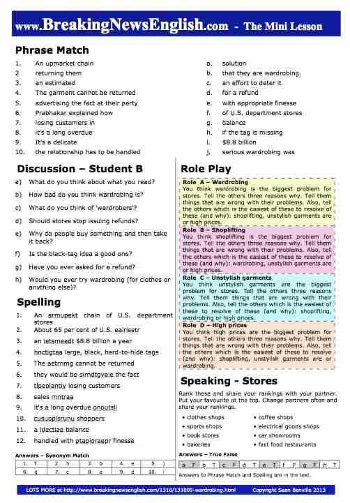 5 Minute English Esl Lessons English Lesson | Autos Post