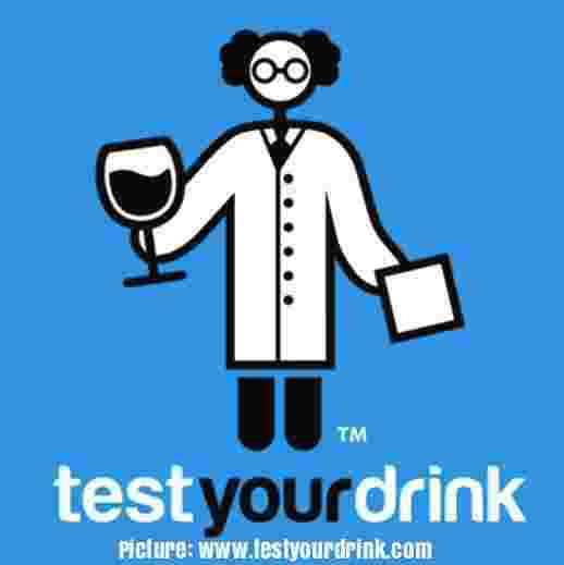 An ESL lesson on Drink Spiking  - New product tests for spiked drinks
