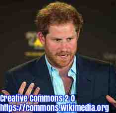Free 2-page printable mini-lesson on the UK's Prince Harry promising to make a difference.