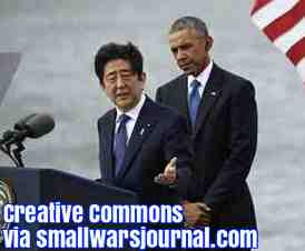 Free 2-page printable mini-lesson on the Japanese Prime Minister's visit to Pearl Harbor.