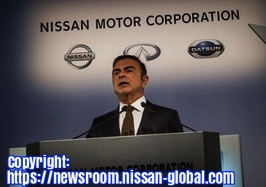 Free 2-page printable mini-lesson on Carlos Ghosn stepping down as CEO of Nissan Motors.