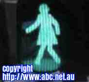 Free 2-page printable mini-lesson on 'female' traffic signals starts in Australia.