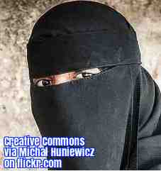 Free 2-page printable mini-lesson on a new law in Austria that bans full-face veils..