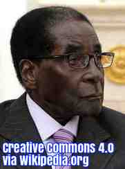 Free 2-page printable mini-lesson on Zimbabwe's Robert Mugabe.