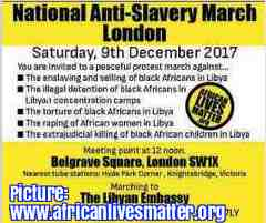 Free 2-page printable mini-lesson on the UN's horror at the modern-day slave trade in Libya.