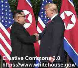 Free 2-page printable mini-lesson on the possibility that U.S. President Donald Trump and North Korean leader Kim Jong-un could get the Nobel Peace Prize.