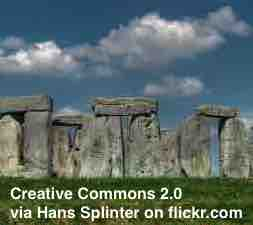 Free 2-page printable mini-lesson on scientists solve one mystery of the ancient site Stonehenge.