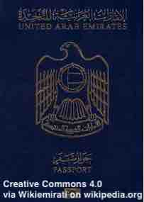 Free 2-page printable mini-lesson on the UAE passport being the world's 'most powerful'.