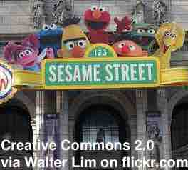 Free 2-page printable mini-lesson on a new Sesame Street character that highlights homelessness among children.