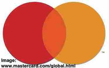Free 2-page printable mini-lesson on Mastercard removing its name from its logo.